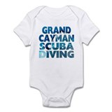 Grand Cayman Scuba Diving Infant Bodysuit