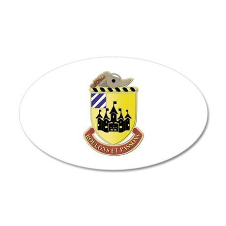 DUI - 3rd Brigade Support Bn 20x12 Oval Wall Decal