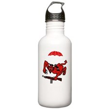 1st 508th Pocket - whi Water Bottle