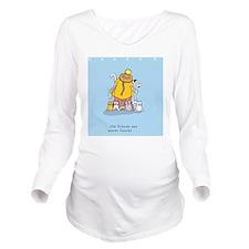 catladyfriend Long Sleeve Maternity T-Shirt