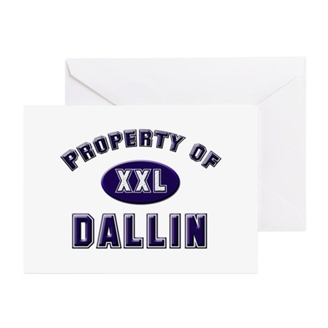 Property of dallin Greeting Cards (Pk of 10)