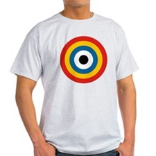 8x10-Chinese_Air_Force_Roundel_1920- T-Shirt