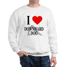 I heart downward dog Sweatshirt