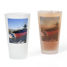 dboone note card Drinking Glass
