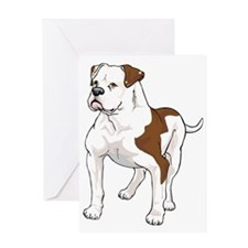 AM BULLDOG 1 Greeting Card