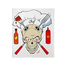 bbq-chef Throw Blanket