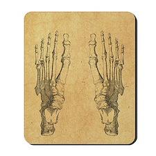 foot-bones-antique_ff Mousepad