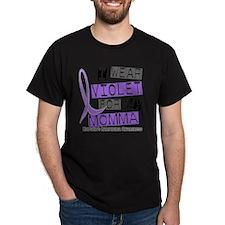 D I Wear Violet Momma 37 Hodgkins Lym T-Shirt