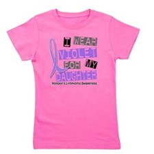 D I Wear Violet Daughter 37 Hodgkins Ly Girl's Tee