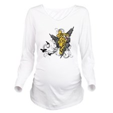 winged_tiger Long Sleeve Maternity T-Shirt