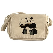 cafepress panda1 Messenger Bag