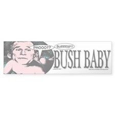 Bush Baby Bumper Car Sticker