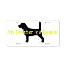 Beagle Brother Aluminum License Plate