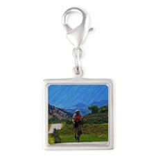 Cycling_Mountain_iPad Silver Square Charm