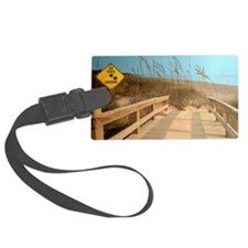 Sea Turtle Crossing Luggage Tag