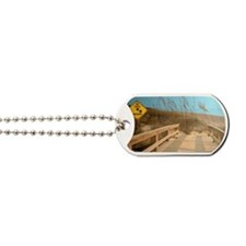 Sea Turtle Crossing Dog Tags