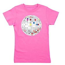 discoball1 Girl's Tee