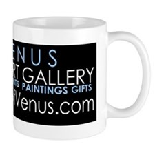 ARTOFVENUSstickerblack Coffee Mug