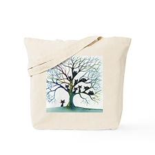 tree stray cats culpeper bigger Tote Bag