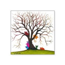 "tree inglewood bigger Square Sticker 3"" x 3"""