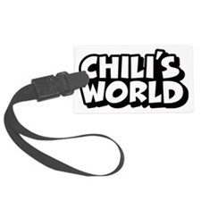 Chili-Logo Luggage Tag