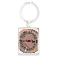 Decarbonise SA Badge Portrait Keychain