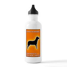Dog Emergency Sticker  Water Bottle