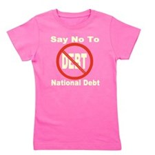 no_debt_transparent Girl's Tee