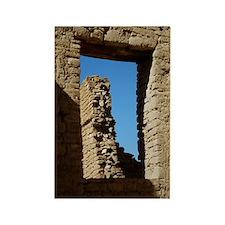 Pueblo Bonito Window Rectangle Magnet