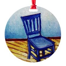 bluechairpillow Ornament