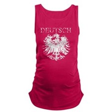 Deutsch German Eagle Vintage Maternity Tank Top