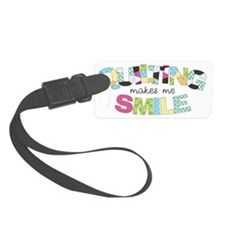 Quilting Smile Small Luggage Tag
