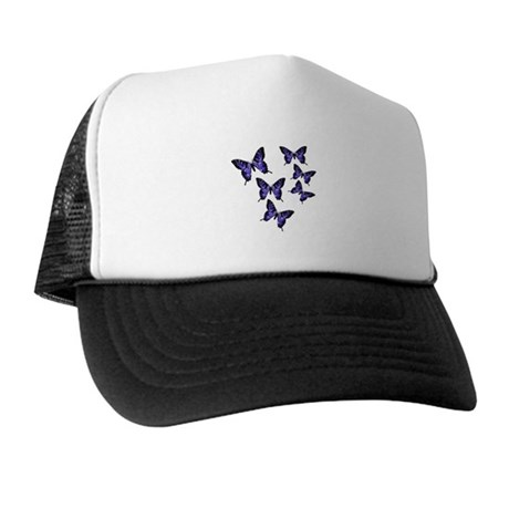 Purple Butterflies Trucker Hat