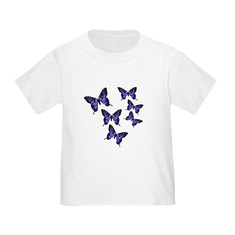 Purple Butterflies Toddler T-Shirt