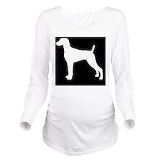 weimaranerlp Long Sleeve Maternity T-Shirt