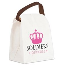 Soldiers Princess Canvas Lunch Bag