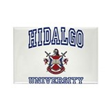 HIDALGO University Rectangle Magnet