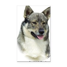 Swedish Vallhund 9K1D-14 Rectangle Car Magnet