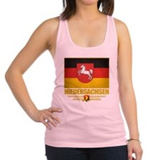 Niedersachsen (Flag 10) Racerback Tank Top