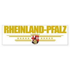 Rheinland-Pfalz (Flag 10) pocket Bumper Sticker
