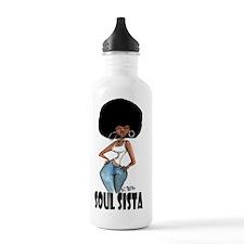 sista wit fro Water Bottle