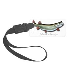 Muskellunge Luggage Tag