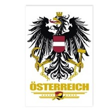 Austria COA (Flag 10) Postcards (Package of 8)