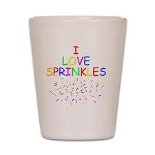 Sprinkles Shot Glass