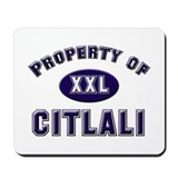 Property of citlali Mousepad