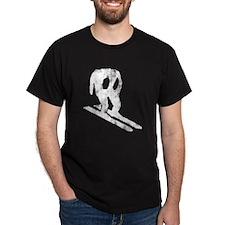 Worn Horace Skiing T-Shirt