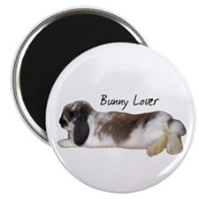 """Bunny Lover 1"" 2.25"" Magnet (100 pack)"