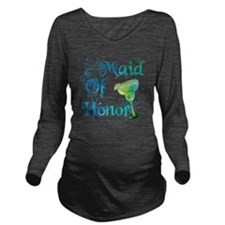 Maid Of Honor Long Sleeve Maternity T-Shirt