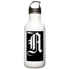 Gothic Initial N Water Bottle