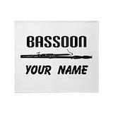 Bassoons Fleece Blankets